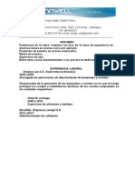 Curriculum Formato Tronwell (Tipo)[1]