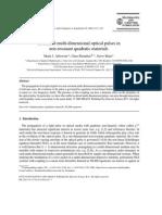 LOCALIZED MULTI-DIMENSIONAL OPTICAL PULSES IN NON-RESONANT QUADRATIC MATERIALS.pdf