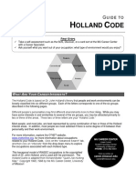 holland code guide