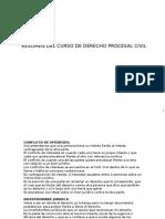 Resumen Del Curso de Derecho Procesal Civil