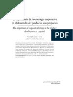 Lectura 3 Importancia de La Estrategia Corportaiva en El Desarrollo Del Producto