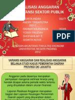 ASP-Artikel Realisasi Anggaran