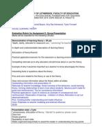 3502 social learning theory virtual presentation rubric 1