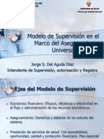 Modelo de Supervisión- SUNASA - JDAD