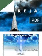 GEREJA KATOLIK