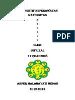 Jufrizal Perspektif Keperawatan Maternitas