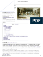 Eucaristia – Wikipédia, A Enciclopédia Livre