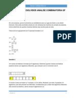 Exercicios Resolvidos Analise Combinatoria Gf2