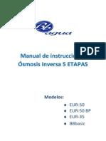 Nuevo Manual de Instrucciones Osmosis Inversa 5 ETAPAS Rev (1)