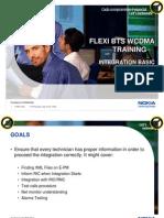 Flexi BTS WCDMA Integration Basic Instruction Trainning