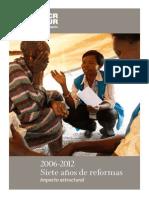 2006-2012 Siete años de reformas