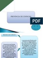 Provincia de Chincha Ppt