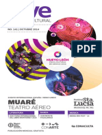 Agenda cultural de CONARTE | octubre 2014