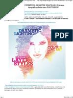 Informática Em Artes Gráficas Ii_ Retratos Tipográficos Feitos Com Photoshop