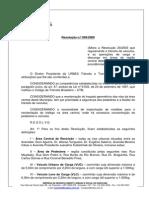 Resolucao006-2009 Alterou a Resolução 2003