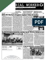 Industrial Worker - Issue #1769, October 2014