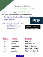 6 Polynomials