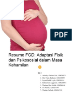 Adaptasi Fisik Dan Psikososial Dalam Masa Kehamilan