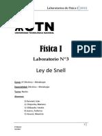 Ley de Snell
