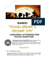 Regolamento - Piccoli Brividi 1a Ed. 2014