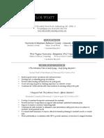 taylor wyatt- resume