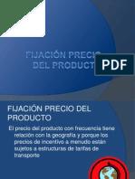 Fijación Precio Del Producto