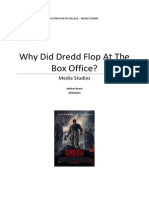 Why Did Dredd Fail at the Box Office?