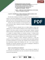 Ficha de Trabalho (UFCD 3544) Estratégias Alzheimer