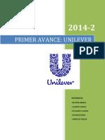 Primer Avance Unilever