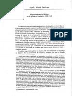 García Zambrano. Poblamiento de México en la Época Del Contacto