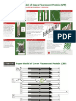 Gfp-model Proteína Verde Fluorescente Ag2014