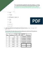 Test 2 Review Fall 2014 Sheehan Calc2