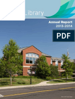Darien Library Annual Report 2013-14