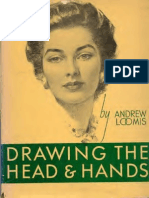 Andrew Loomis Drawing the Head Hands Text