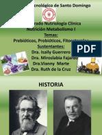 Presentacion Nutricion (Prebioticos,Probioticos,Fitoesteroles)