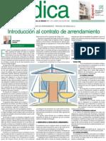 Juridica6 - Contrato de Arrendamiento - Proceso de Desalojo (i) Introducción Al Contrato de Arrendamiento 12-07-2004