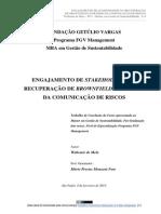 Tcc Fgv Engajamentodestakeholdersnarecuperaodebrownfieldspormeiodacomunicaoderiscos Waltemirdemelo 130318162004 Phpapp01 (2)
