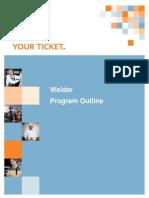 Welder Outline July 2013