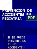 Prevencion de Accidentes en Pediatria Breve