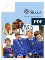 Roysia Middle School Prospectus Info Pack