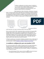 O Windows seleciona as melhores configurações de exibição.docx