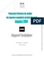 2004 Major Rapport Technique