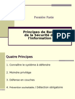 Principes de Base Securite Information