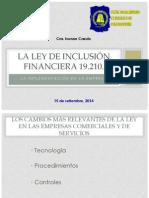 Implementación de La Ley de Inclusión Financiera 19210 UBMC Ver 1.2
