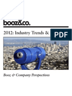 Booz and Co-Perspectives 2012