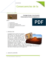 Causas u Consecuencias de La Erosion
