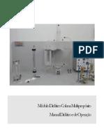 Manual de Operações Unitárias Anexo Do Módulo Multipropósito