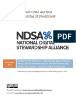 National Agenda For Digital Stewardship