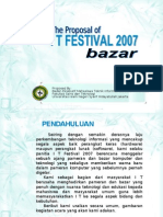 Proposal Bazar