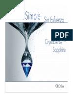 CrystaSense Sapphire Presentation